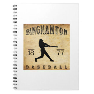 1877 Binghamton New York Baseball Journals