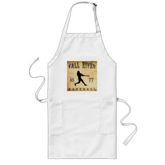 1877 Fall River Massachusetts Baseball Long Apron