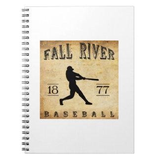 1877 Fall River Massachusetts Baseball Journal