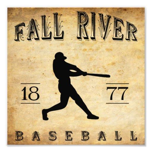 1877 Fall River Massachusetts Baseball Photograph