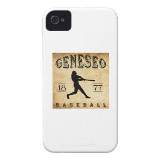 1877 Geneseo New York Baseball iPhone 4 Case