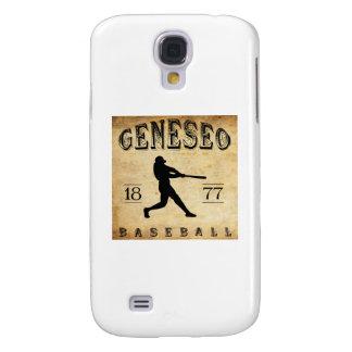 1877 Geneseo New York Baseball Galaxy S4 Case