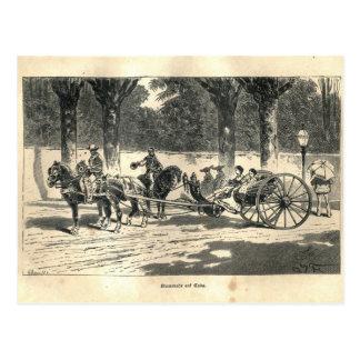 1877 impresión Cuba, tierra y su gente Postales