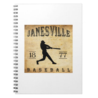 1877 Janesville Wisconsin Baseball Note Books
