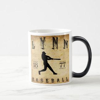 1877 Lynn Massachusetts Baseball 11 Oz Magic Heat Color-Changing Coffee Mug