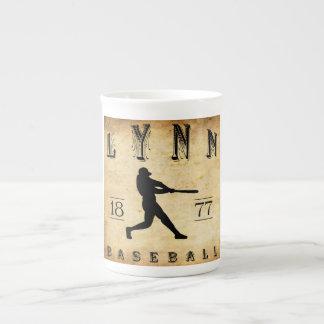 1877 Lynn Massachusetts Baseball Porcelain Mugs
