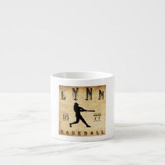 1877 Lynn Massachusetts Baseball 6 Oz Ceramic Espresso Cup