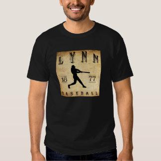 1877 Lynn Massachusetts Baseball T-shirt