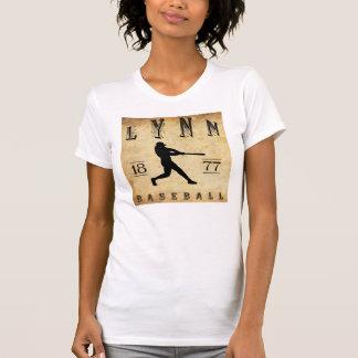 1877 Lynn Massachusetts Baseball T Shirt