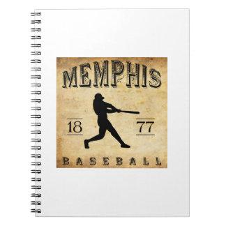 1877 Memphis Tennessee Baseball Spiral Note Books