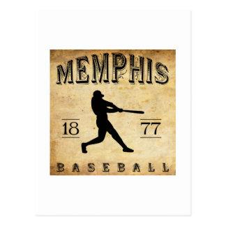 1877 Memphis Tennessee Baseball Postcard