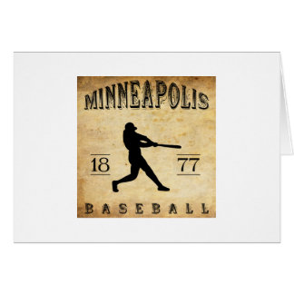1877 Minneapolis Minnesota Baseball Card