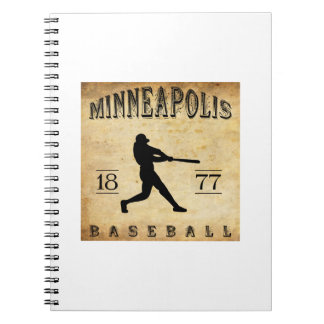 1877 Minneapolis Minnesota Baseball Journals