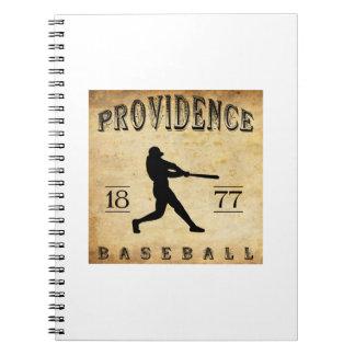1877 Providence Rhode Island Baseball Journals