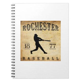 1877 Rochester New York Baseball Journal