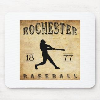 1877 Rochester New York Baseball Mouse Pad