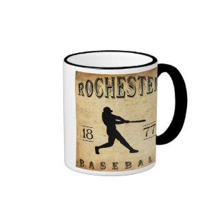 1877 Rochester New York Baseball Mug