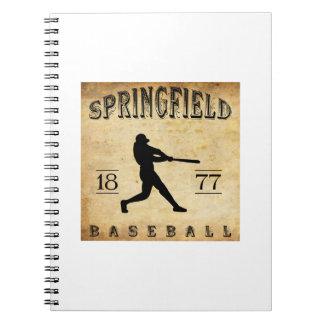 1877 Springfield Ohio Baseball Note Book
