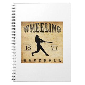 1877 Wheeling West Virginia Baseball Notebooks