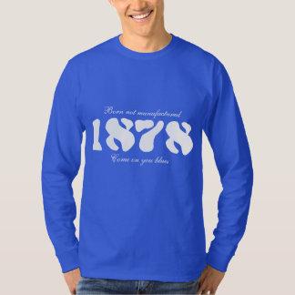 1878 blue long sleeved top