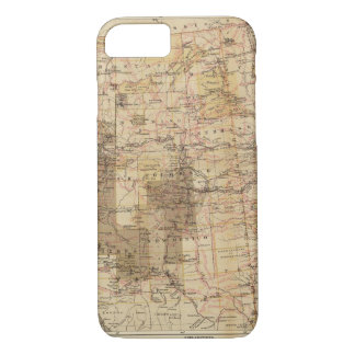 1878 Progress Map of The US Geographical Surveys 2 iPhone 7 Case