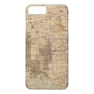 1878 Progress Map of The US Geographical Surveys 2 iPhone 7 Plus Case