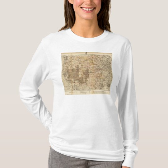 1878 Progress Map of The US Geographical Surveys 2 T-Shirt