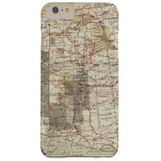 1878 Progress Map of The US Geographical Surveys Barely There iPhone 6 Plus Case