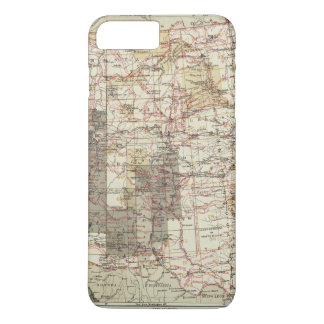 1878 Progress Map of The US Geographical Surveys iPhone 7 Plus Case