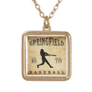 1878 Springfield Massachusetts Baseball Jewelry