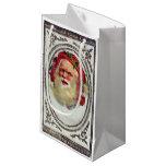 1878: Una tarjeta de felicitaciones del navidad Bolsa De Regalo Pequeña