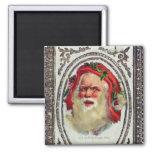 1878: Una tarjeta de felicitaciones del navidad de Imán Cuadrado