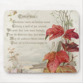1879: A ninteenth century Christmas card Mouse Pad