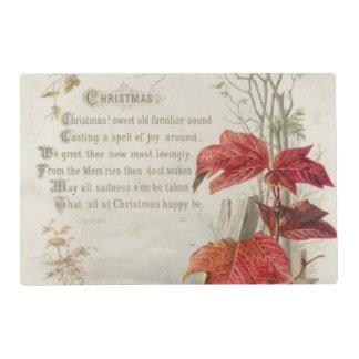 1879: A ninteenth century Christmas card Laminated Place Mat