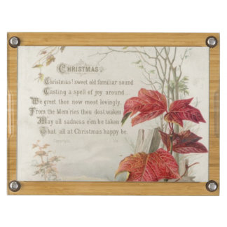 1879: A ninteenth century Christmas card Rectangular Cheese Board