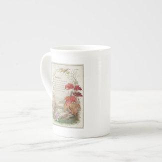 1879: A ninteenth century Christmas card Bone China Mug