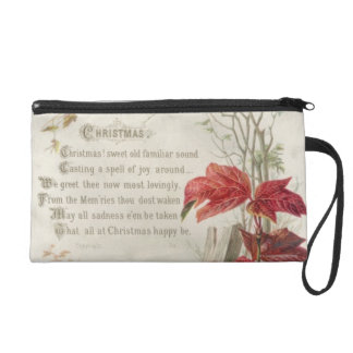 1879: A ninteenth century Christmas card Wristlet