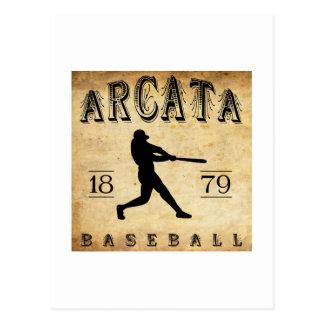 1879 Arcata California Baseball Postcard