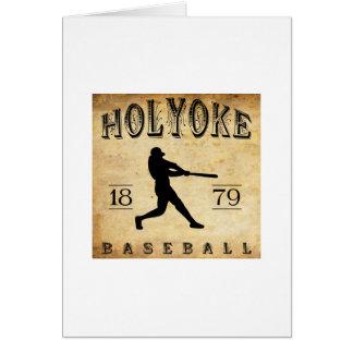 1879 Holyoke Massachusetts Baseball Stationery Note Card