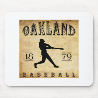 1879 Oakland California Baseball Mouse Pad