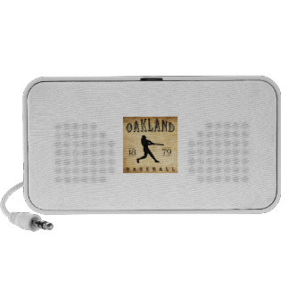 1879 Oakland California Baseball Speaker