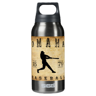 1879 Omaha Nebraska Baseball Insulated Water Bottle