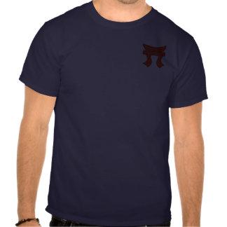 187o Infantería Torii + El ataque aéreo se va Camisetas