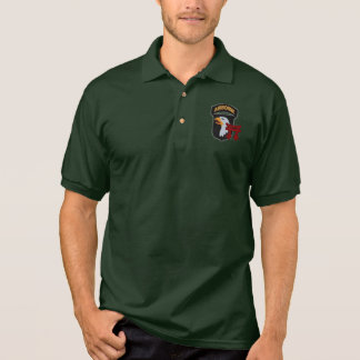 187th Infantry 101st Airborne Polo Shirt