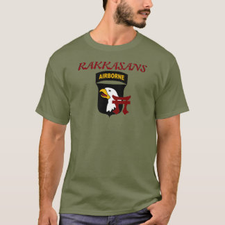 187TH INFANTRY 101ST AIRBORNE RAKKASANS SHIRT