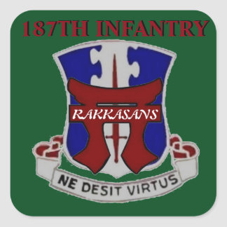 187TH INFANTRY RAKKASANS STICKERS