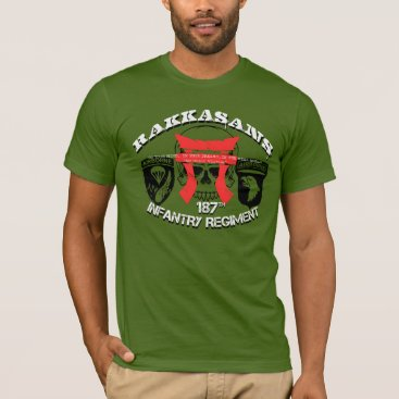 "RakkaWear 187th Infantry  RAKKASANS ""Warzone"" T-Shirt"