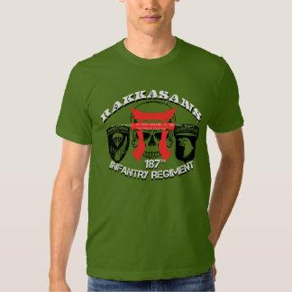 "187th Infantry  RAKKASANS ""Warzone"" Tshirts"