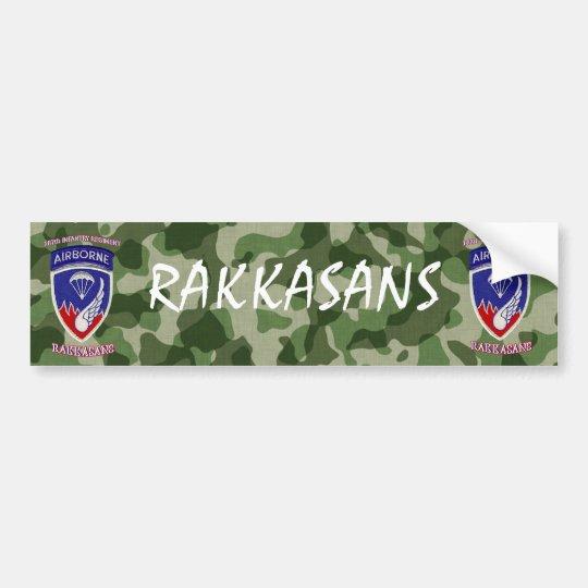 187th Infantry Regiment Bumper Sticker