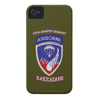 187th Infantry Regiment iPhone 4 Cases
